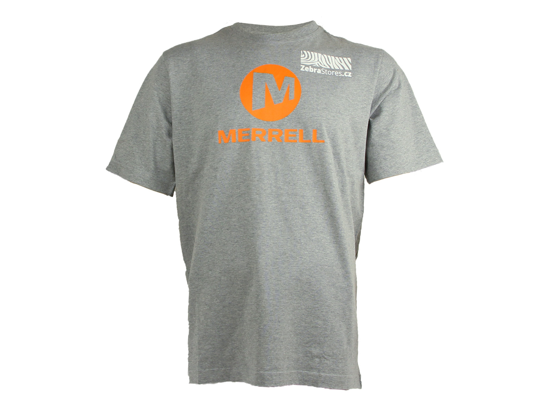 Merrell tričko s logem ZebraStores JMS21887-040 XXL