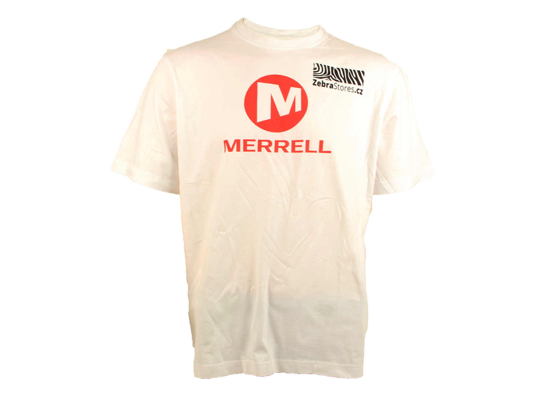 Merrell tričko s logem ZebraStores JMS21887-100 L