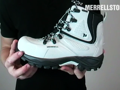 Merrell Whiteout 8 Waterproof White
